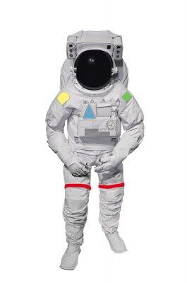 Väggdekor Astronaut Isolerad på vit bakgrund