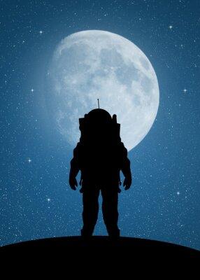 Väggdekor Astronaut till Mars