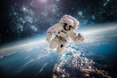 Väggdekor Astronaut yttre Spac element av bilden som tillhandahålls av NASA.