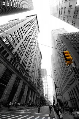 Väggdekor avenue nya yorkaise