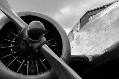 Väggdekor Avion en Hélice