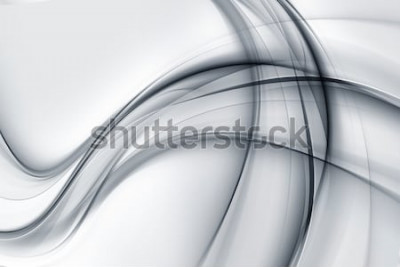 Väggdekor Awesome Bright White Grey Wallpaper Abstract