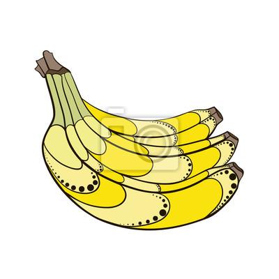 Väggdekor BananaDecorative