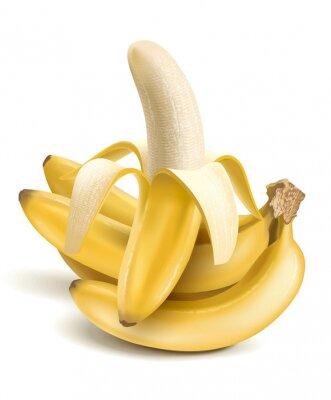 Väggdekor bananer