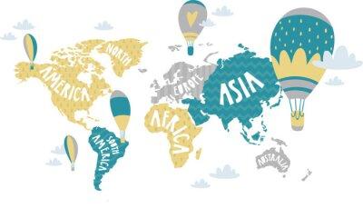 Väggdekor Barn grafisk illustration. Används för utskrift på väggen, kudde, dekoration barn inredning, baby kläder och skjortor, gratulationskort, vektor och andra