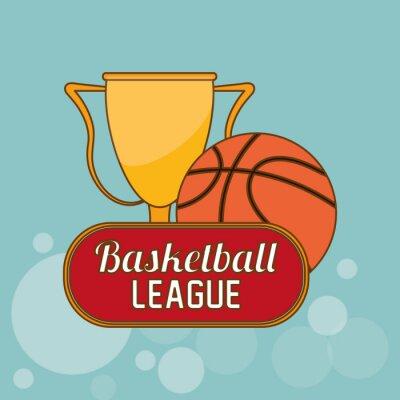 Väggdekor Basket ikonen design