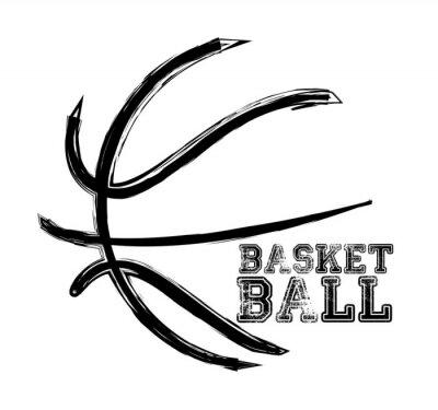 Väggdekor basket sport