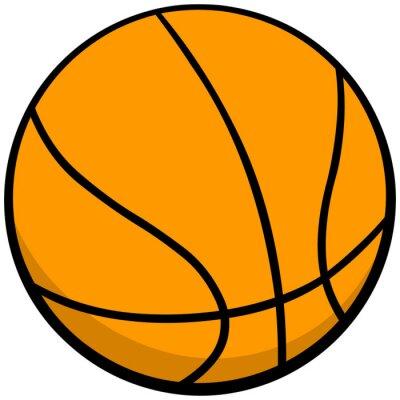 Väggdekor Basketboll