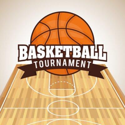 Väggdekor basketdesign
