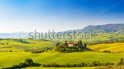 Väggdekor Beautiful landscape in Tuscany, Italy