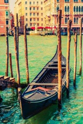 Väggdekor Berömda Venice Gondola