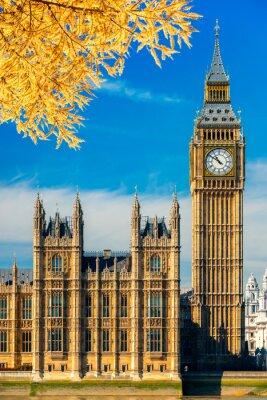 Väggdekor Big Ben och parlamentsbyggnaden, London, Storbritannien.