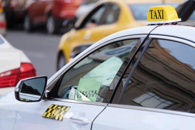 Väggdekor Bilden av taxi