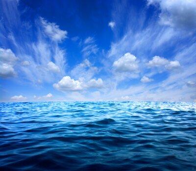 Väggdekor Blå havsvatten
