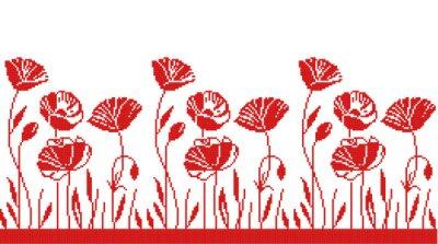 Väggdekor blommig prydnad