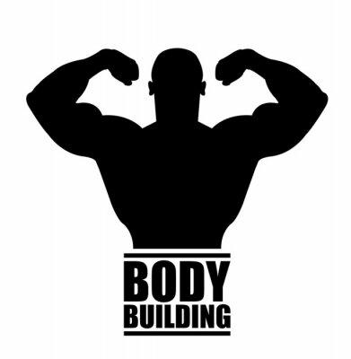 Väggdekor body building