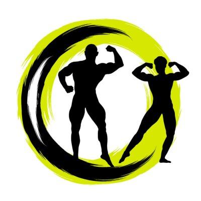 Väggdekor Bodybuilding - 41