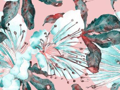 Väggdekor Bold Floral Design.
