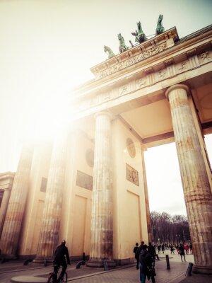 Väggdekor Brandenburger Tor, Berlin