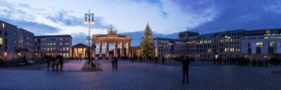 Väggdekor Brandenburger Tor panorama