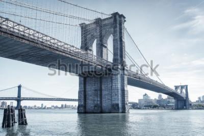 Väggdekor brooklyn bridge in new york