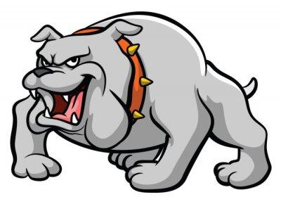 Väggdekor Bulldogg