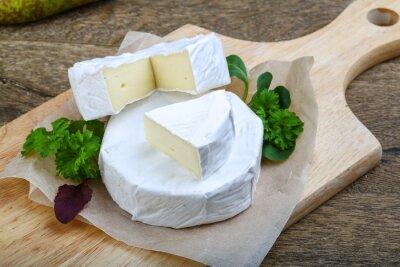 Väggdekor camembert ost
