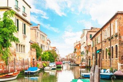 Väggdekor Canal Venedig Italien