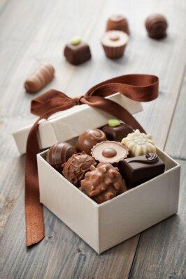 Väggdekor choklad