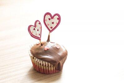 Väggdekor Choklad muffin rätt