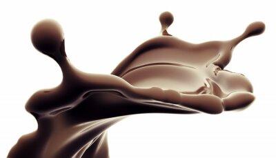 Väggdekor choklad splash