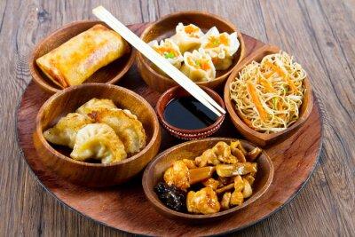 Väggdekor cibo cinese