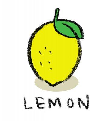 Väggdekor Citron