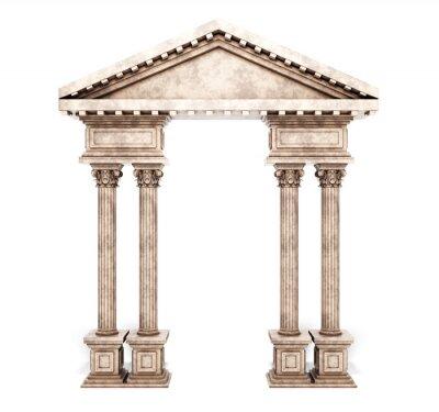 Väggdekor Classic korintiska kolumn Arch.