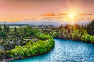 Väggdekor Clutha river