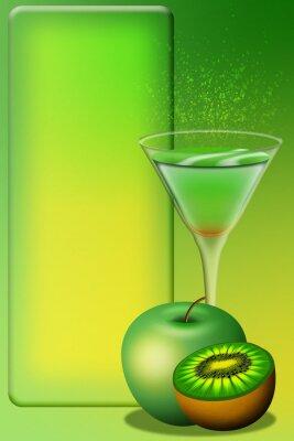 Väggdekor Cocktail Meny Aperitivo Meny Aperitif Meny 4