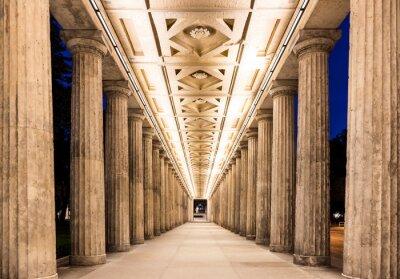 Väggdekor Colonnade på natten