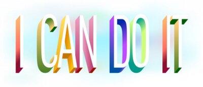 Väggdekor Colorful illustration of