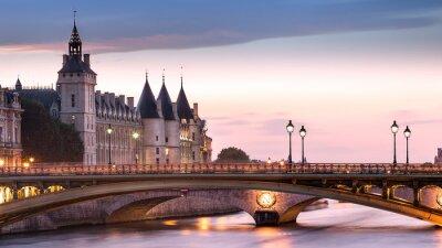 Väggdekor Conciergeriet Paris Frankrike