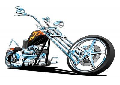 Väggdekor Custom American Chopper Motorcycle