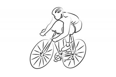 Väggdekor Cyclisme