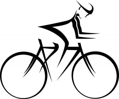 Väggdekor Cykel Racer Accent