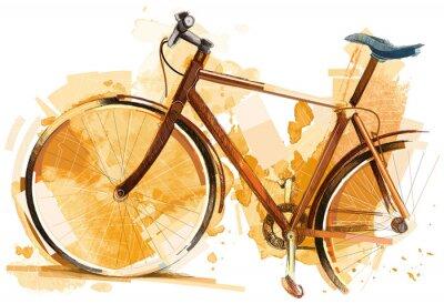 Väggdekor cykellopp