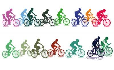 Väggdekor Cykla i gruppen
