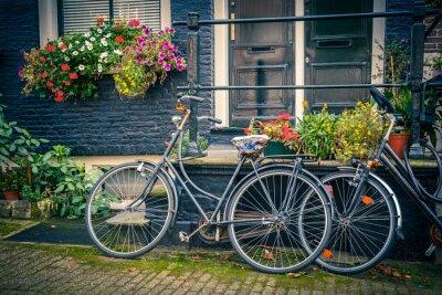 Väggdekor Cyklar i Amsterdam