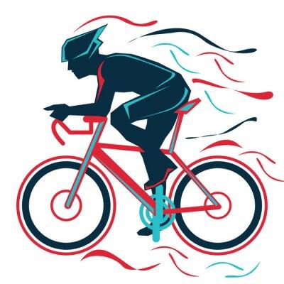 Väggdekor cykling, bycicle, sport