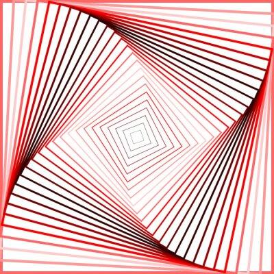 Väggdekor Designen färgrik snurra rörelse illusion bakgrund