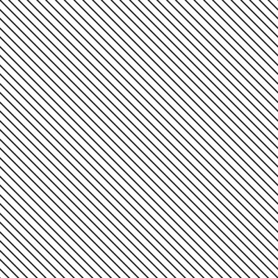 Väggdekor Diagonal rand seamless. Geometrisk klassiskt svart och vitt tunn linje bakgrund.