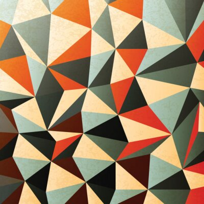 Väggdekor Diamantformade mönster. Abstrakt, vektor, EPS10
