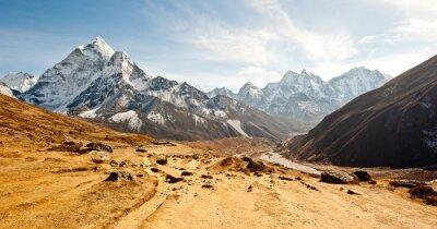 Väggdekor Djup dal i Himalaya bergen